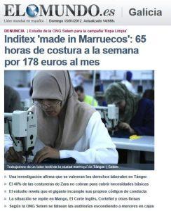 explotación industria textil goslow