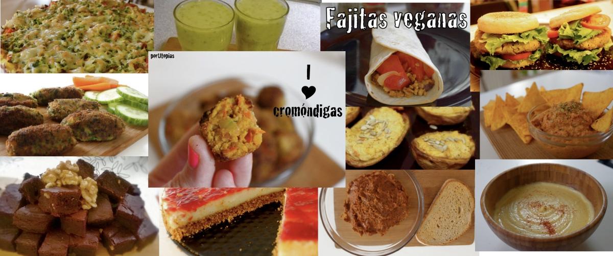 Vegan porUtopías - recetas por categorías